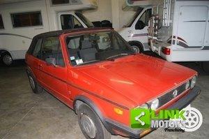 Volkswagen Golf Cabrio KARMANN 1300 GL 1985 ISCRITTA ASI For Sale