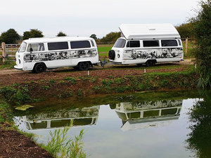 Type 2 1975 VW Camper LHD subject to a 40k + rebuild For Sale