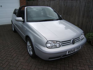 2000 Volkswagen Golf 2.0 Avantgarde Cabriolet Automatic For Sale