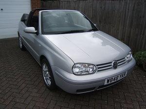 2000 Volkswagen Golf 2.0 Avantgarde Cabriolet Automatic