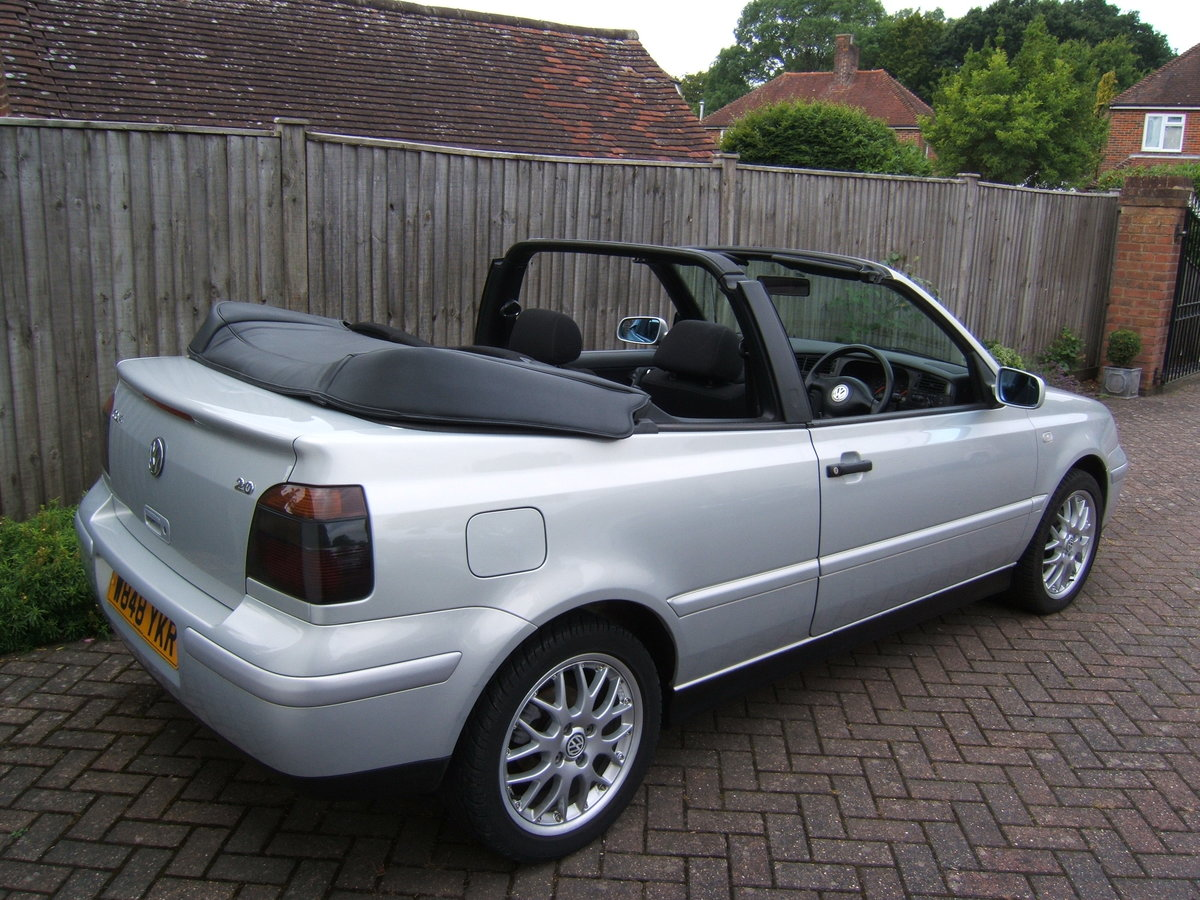 2000 Volkswagen Golf 2.0 Avantgarde Cabriolet Automatic For Sale (picture 2 of 6)
