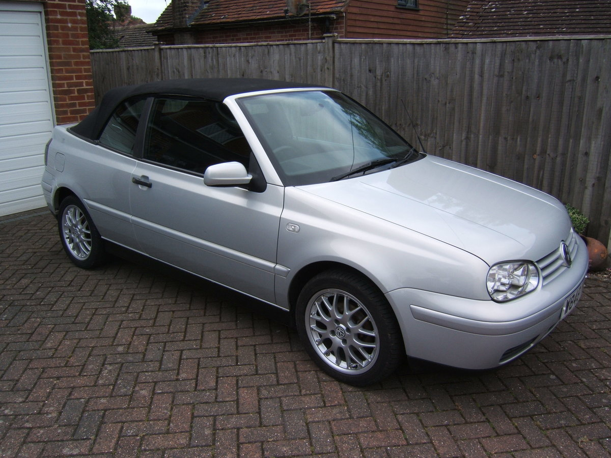 2000 Volkswagen Golf 2.0 Avantgarde Cabriolet Automatic For Sale (picture 5 of 6)
