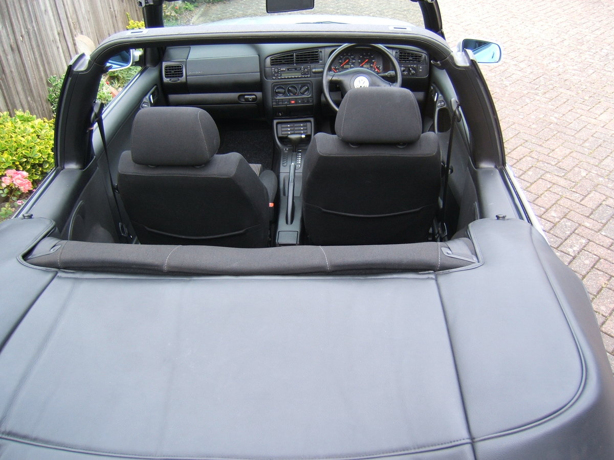 2000 Volkswagen Golf 2.0 Avantgarde Cabriolet Automatic For Sale (picture 6 of 6)