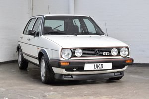 1986 VW VOLKSWAEN GOLF GTI MK2 1.8 8V 5DR WHITE  TYPE 19