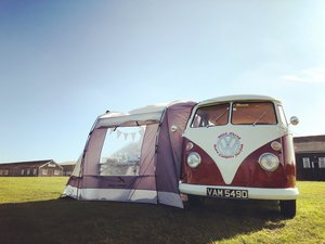 1966 VW splitscreen campervan RHD