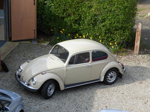 1970 Volkswagen Beetle 1500 - one owner since 1977 For Sale by Auction