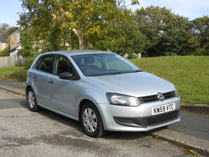 2010 VW POLO 1.2 S 60 5DR New Shape One Former + FSH SOLD