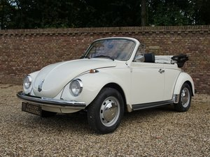 Volkswagen Beetle 1303 S Convertible original Dutch delivere