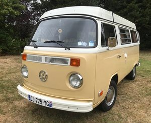 1979 T2 westfalia, registered in france
