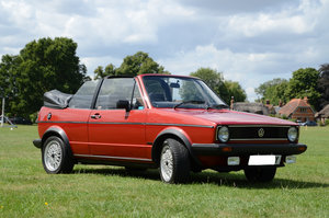 1982 Golf Mk1 Cabriolet in Exceptional Condition For Sale