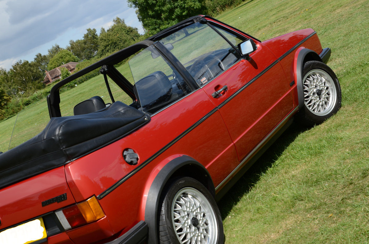 1982 Golf Mk1 Cabriolet in Exceptional Condition SOLD (picture 2 of 6)