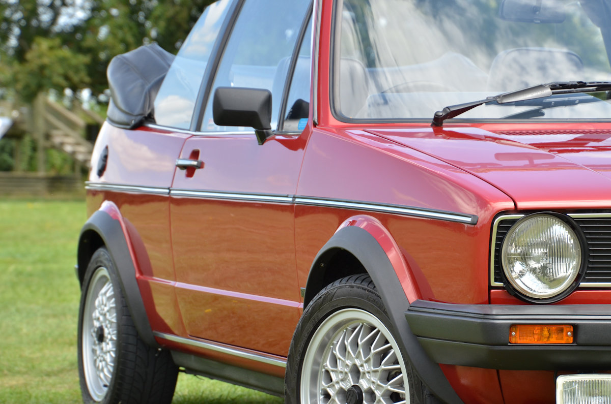 1982 Golf Mk1 Cabriolet in Exceptional Condition SOLD (picture 3 of 6)