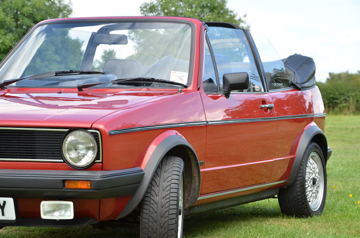 1982 Golf Mk1 Cabriolet in Exceptional Condition SOLD (picture 4 of 6)