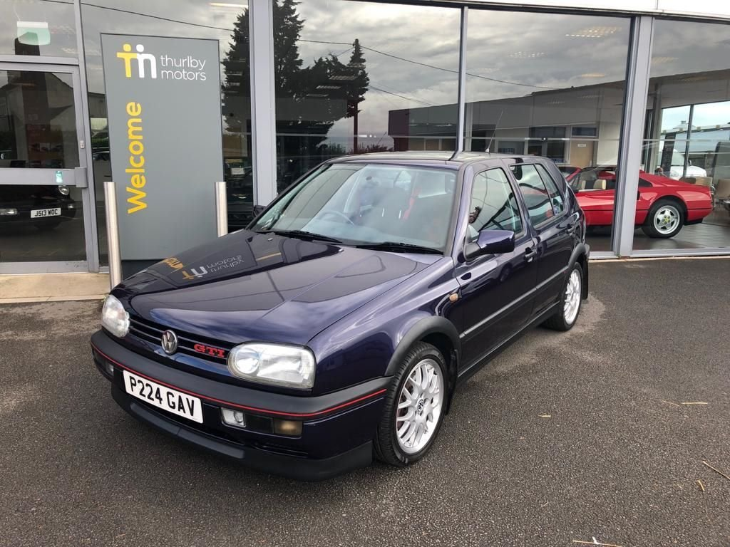 1996 VW GOLF GTI ANNIVERSARY For Sale (picture 1 of 3)