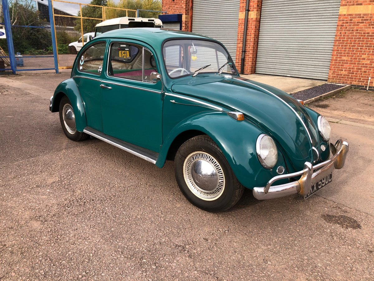 1965 VW Beetle - T1 Sloper - Steel Sun Roof For Sale (picture 1 of 6)