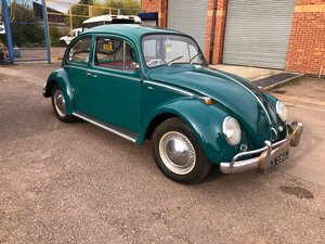 1965 VW Beetle - T1 Sloper - Steel Sun Roof