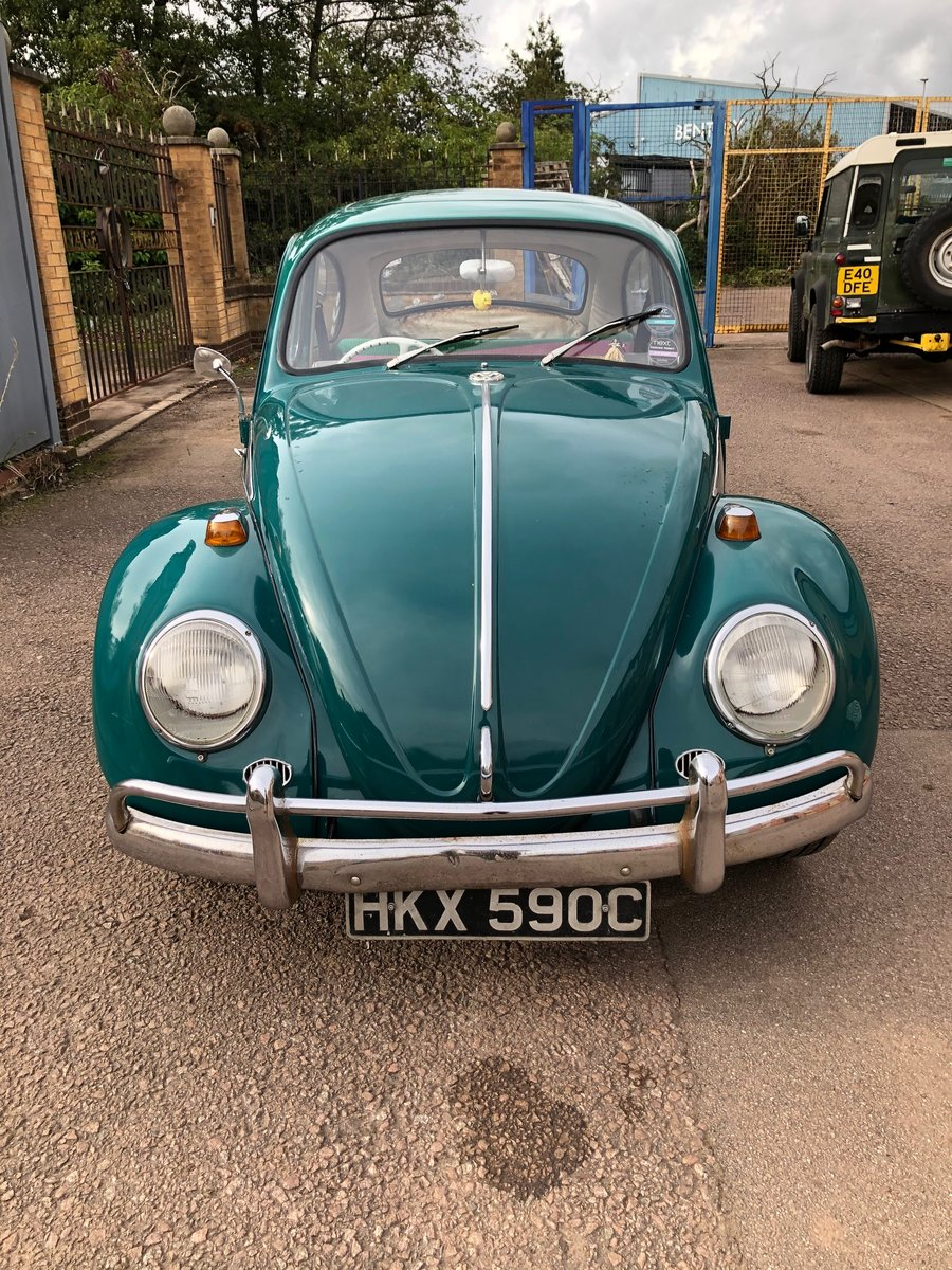 1965 VW Beetle - T1 Sloper - Steel Sun Roof For Sale (picture 2 of 6)