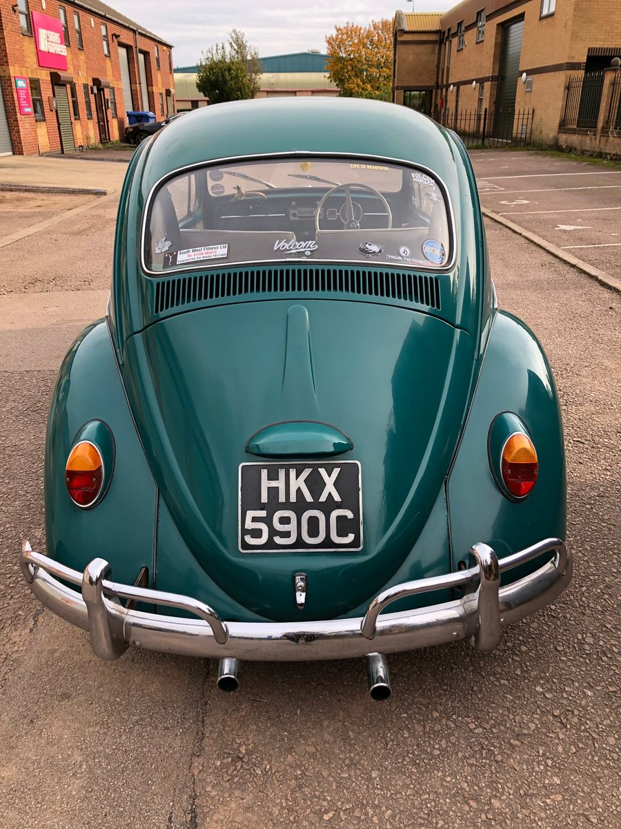 1965 VW Beetle - T1 Sloper - Steel Sun Roof For Sale (picture 3 of 6)