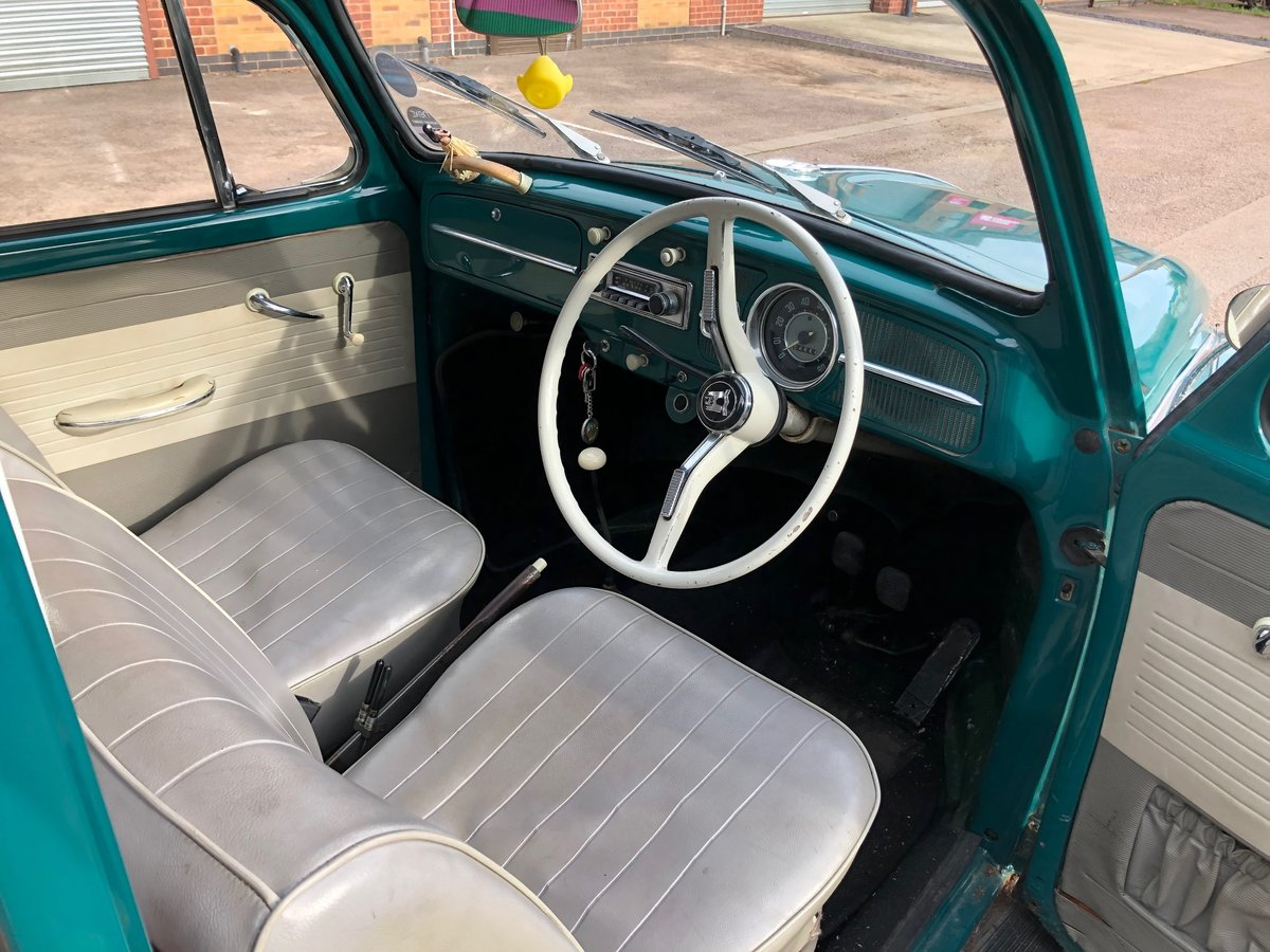 1965 VW Beetle - T1 Sloper - Steel Sun Roof For Sale (picture 4 of 6)