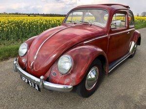 1959 VW Beetle - Classic Ragtop