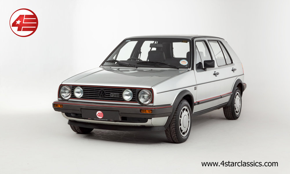 1985 VW Golf GTI Mk2 /// One Owner /// 74k Miles For Sale (picture 1 of 6)