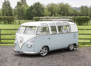 1966 Volkswagen 19-Window Barn-Door Camper