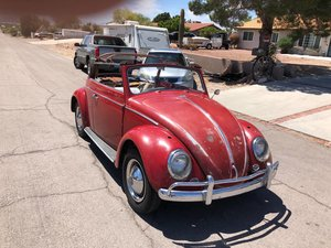 bug convertible 1963 fore sale