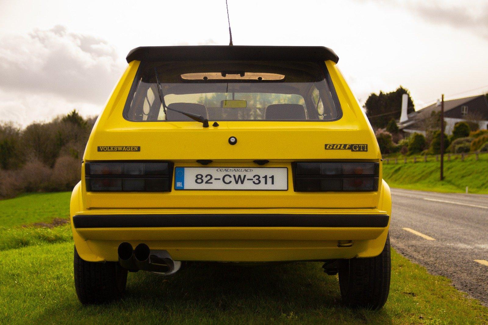 1982 Volkswagen Golf MK1 GTI Custom 130 BHP For Sale (picture 3 of 6)
