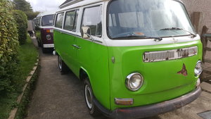 1972 VW Bay window deluxe micro bus