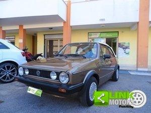 1982 Volkswagen Golf Cabrio 1500 GLS KARMAN