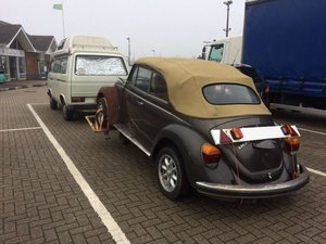 1977 2 x Karmann convertible beetle projects For Sale