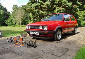 1989 VOLKSWAGEN GOLF GTI MK2 For Sale by Auction