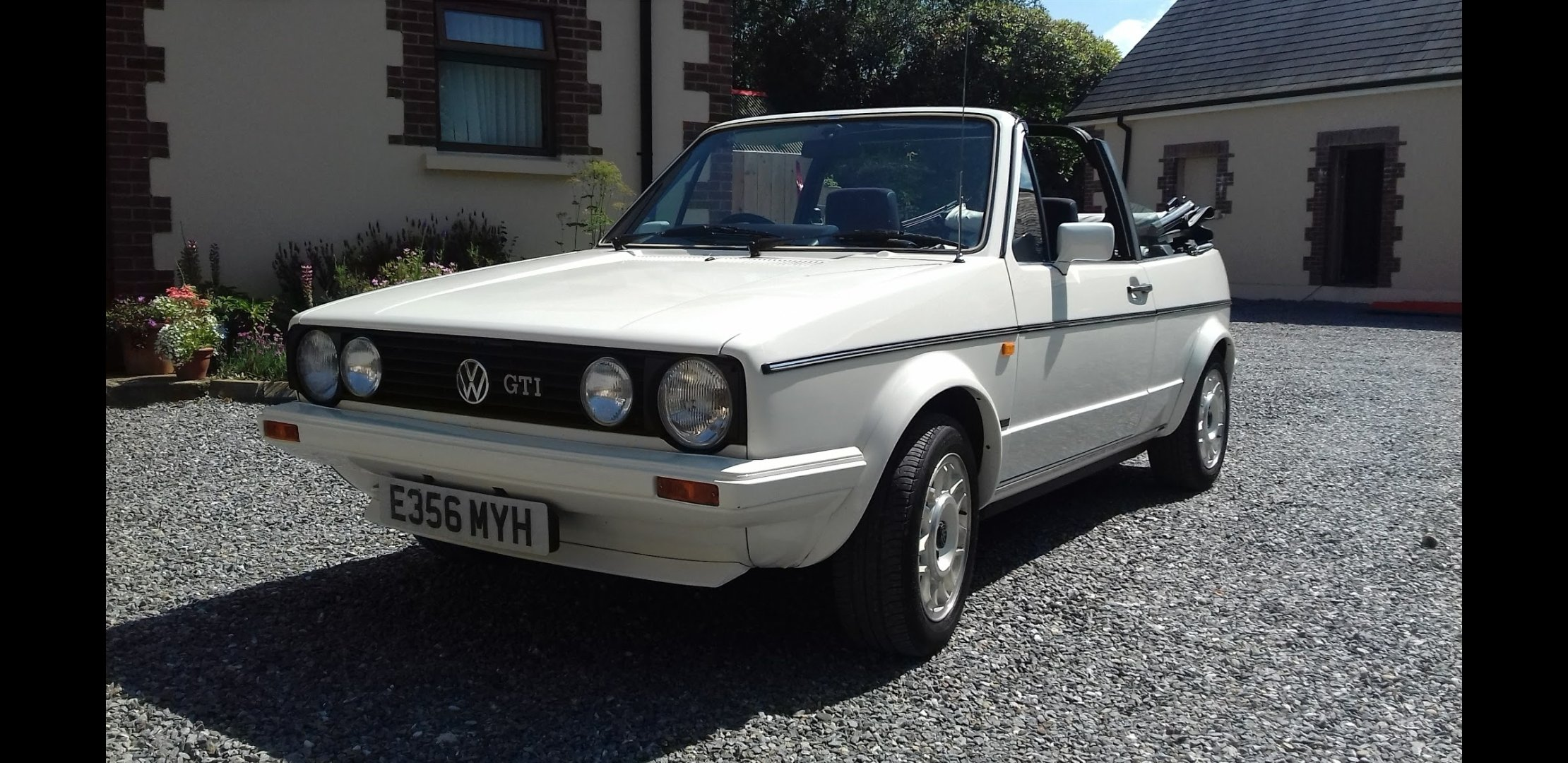 1988 VW Golf GTI Cabriolet  For Sale (picture 2 of 6)