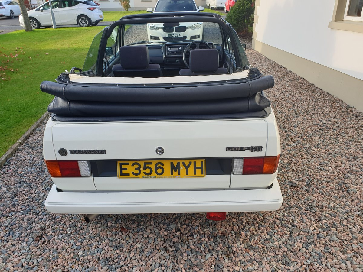 1988 VW Golf GTI Cabriolet  For Sale (picture 4 of 6)