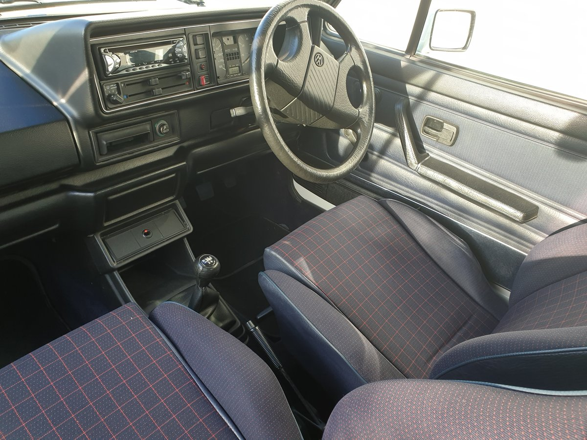 1988 VW Golf GTI Cabriolet  For Sale (picture 5 of 6)
