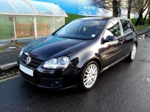 2009 VW GOLF GT TDI 2.0 SPORT 140BHP 6 SPEED MANUAL A/C S/H For Sale