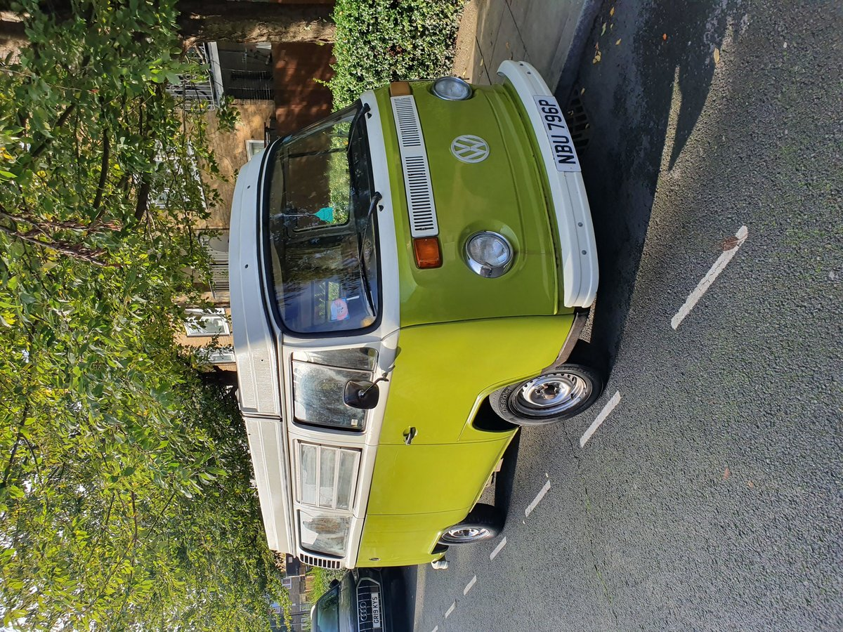 1976 VW T2 ORIGINAL WESTFALIA - BRAND NEW ENGINE For Sale (picture 1 of 6)