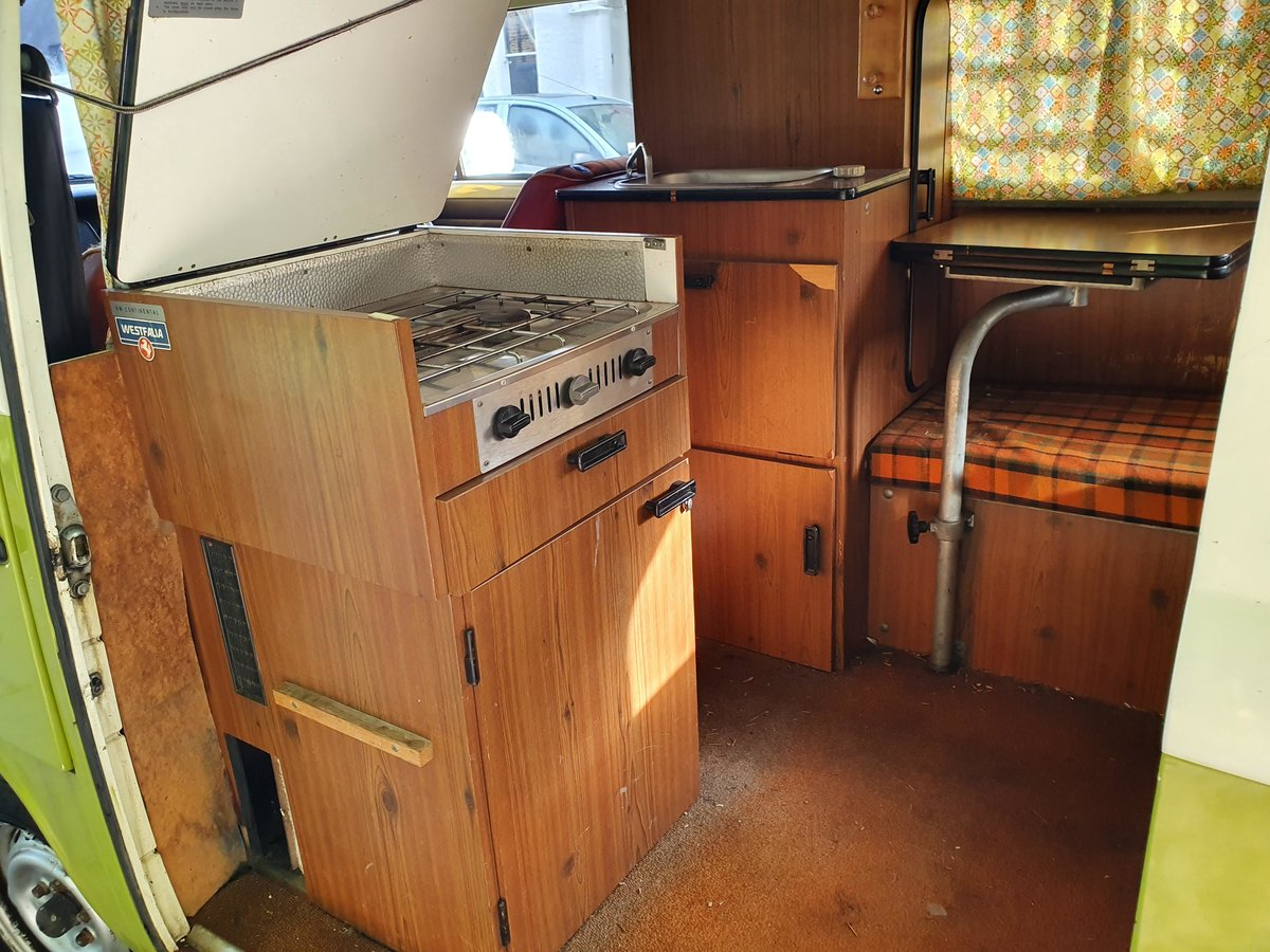 1976 VW T2 ORIGINAL WESTFALIA - BRAND NEW ENGINE For Sale (picture 2 of 6)