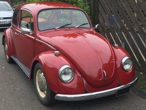 1973 VW 1200 Beetle at ACA 2nd November