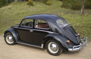 1961 VW Beetle UK RHD For Sale