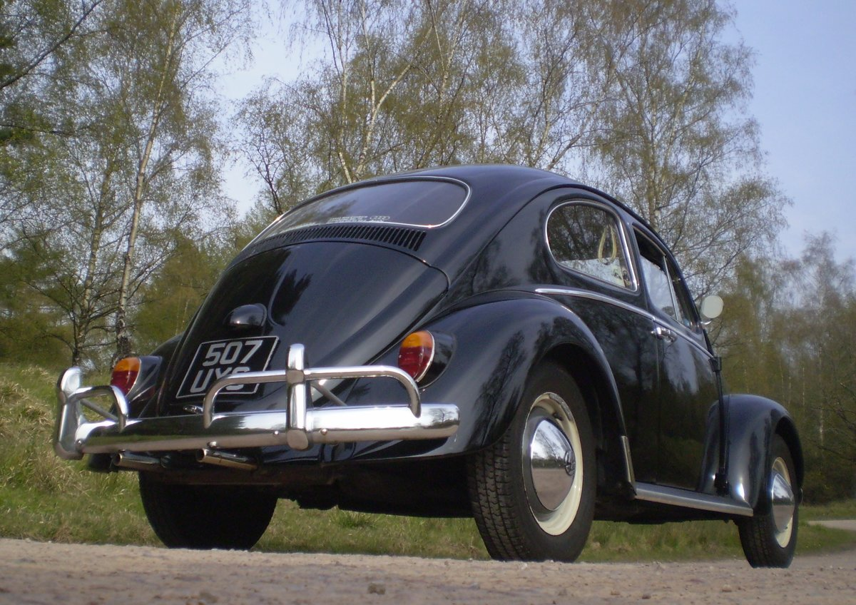 1961 VW Beetle UK RHD For Sale (picture 2 of 6)