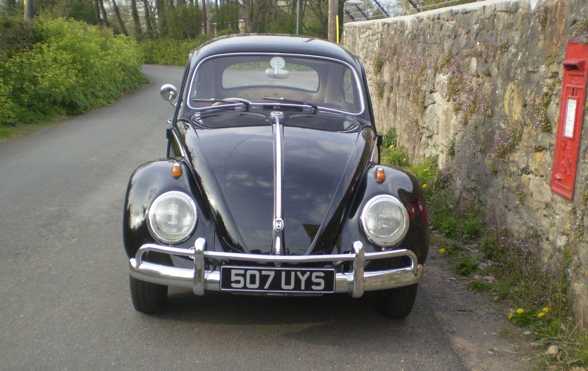 1961 VW Beetle UK RHD For Sale (picture 6 of 6)