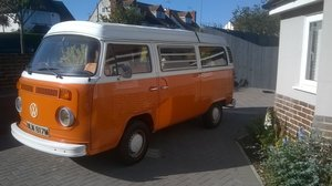 1972 1973 Volkswagen T2 Camper, one family owned from new