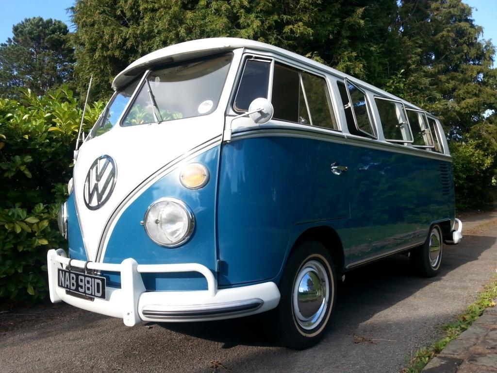 VW 13 Window Deluxe 1966. W/T. Original Survivor. For Sale (picture 1 of 6)