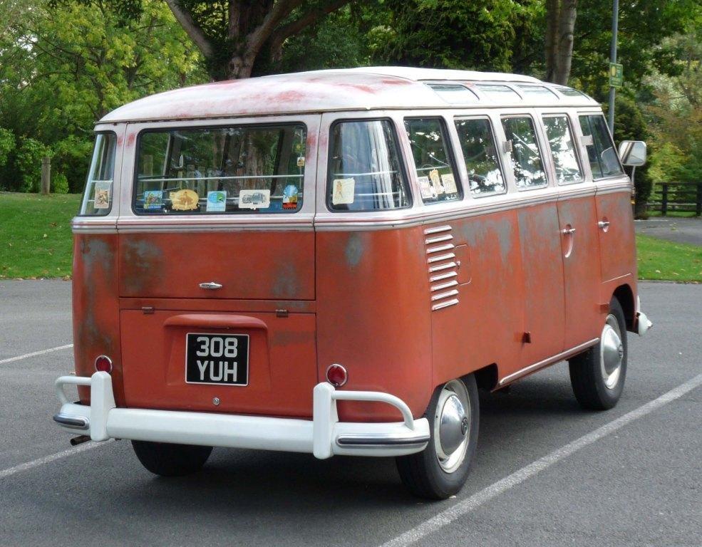 VW 23 Window Deluxe Samba 1960. Original Survivor. For Sale (picture 3 of 6)