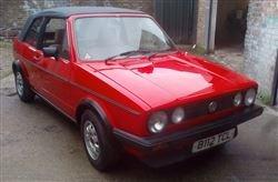 1985 Golf Mk1 Convertible-Barons Sandown Pk Sat 26th October 2019