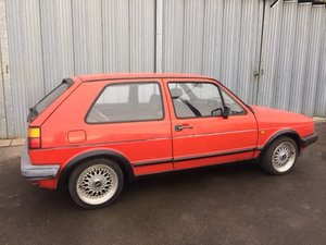 EXTRA LOT:  A 1986 Volkswagen Golf GTI - 03/11/2019 SOLD by Auction