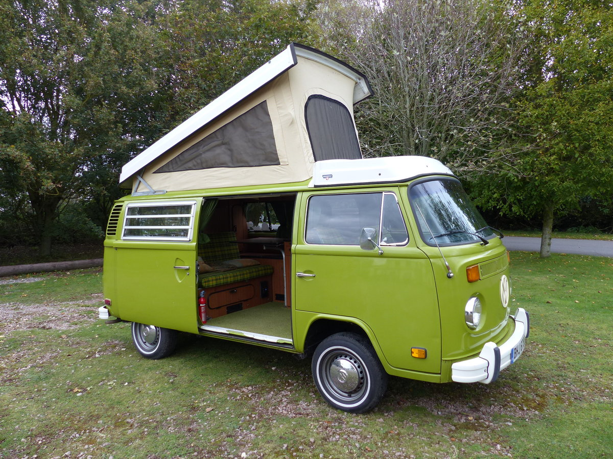 1977 TYPE 2 BAY WINDOW WESTFALIA BERLIN CAMPER 2.0 For Sale (picture 1 of 6)