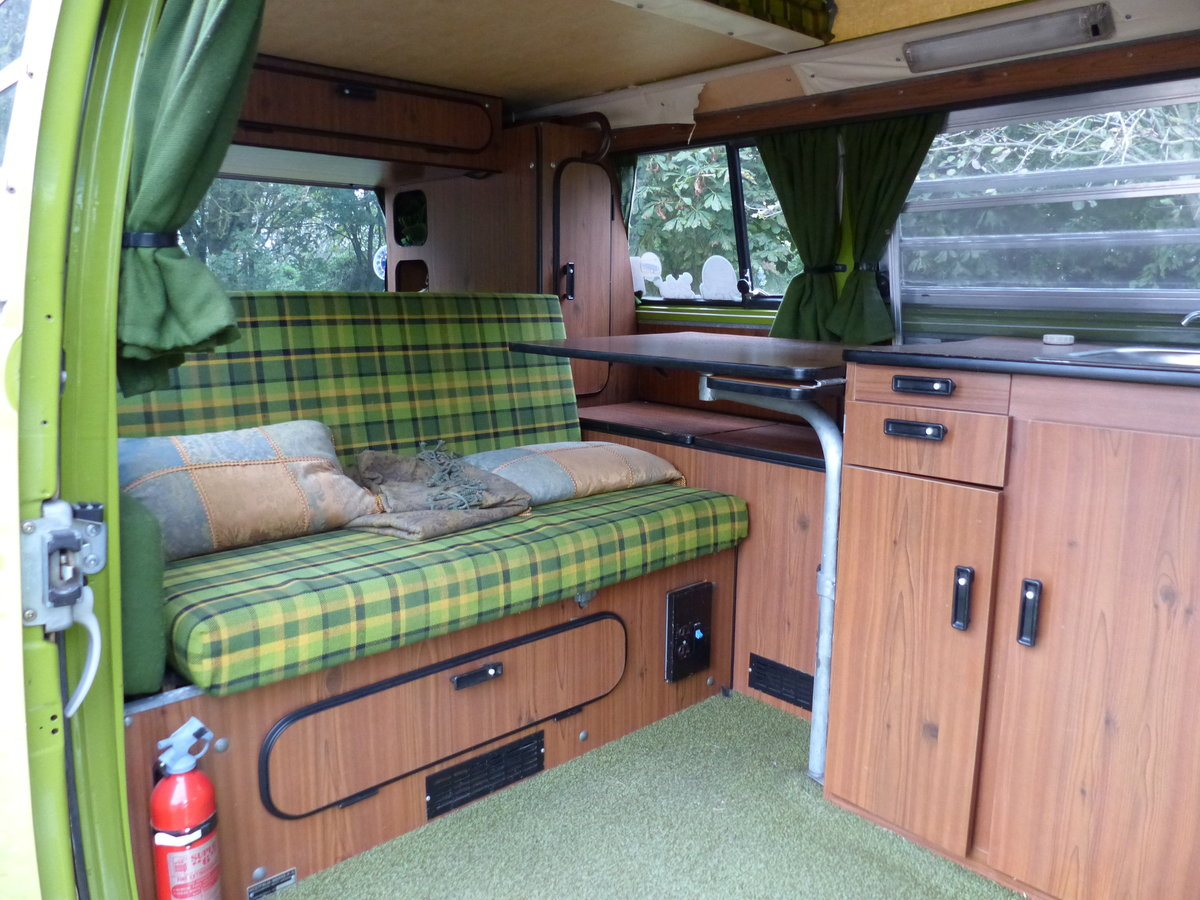 1977 TYPE 2 BAY WINDOW WESTFALIA BERLIN CAMPER 2.0 For Sale (picture 2 of 6)