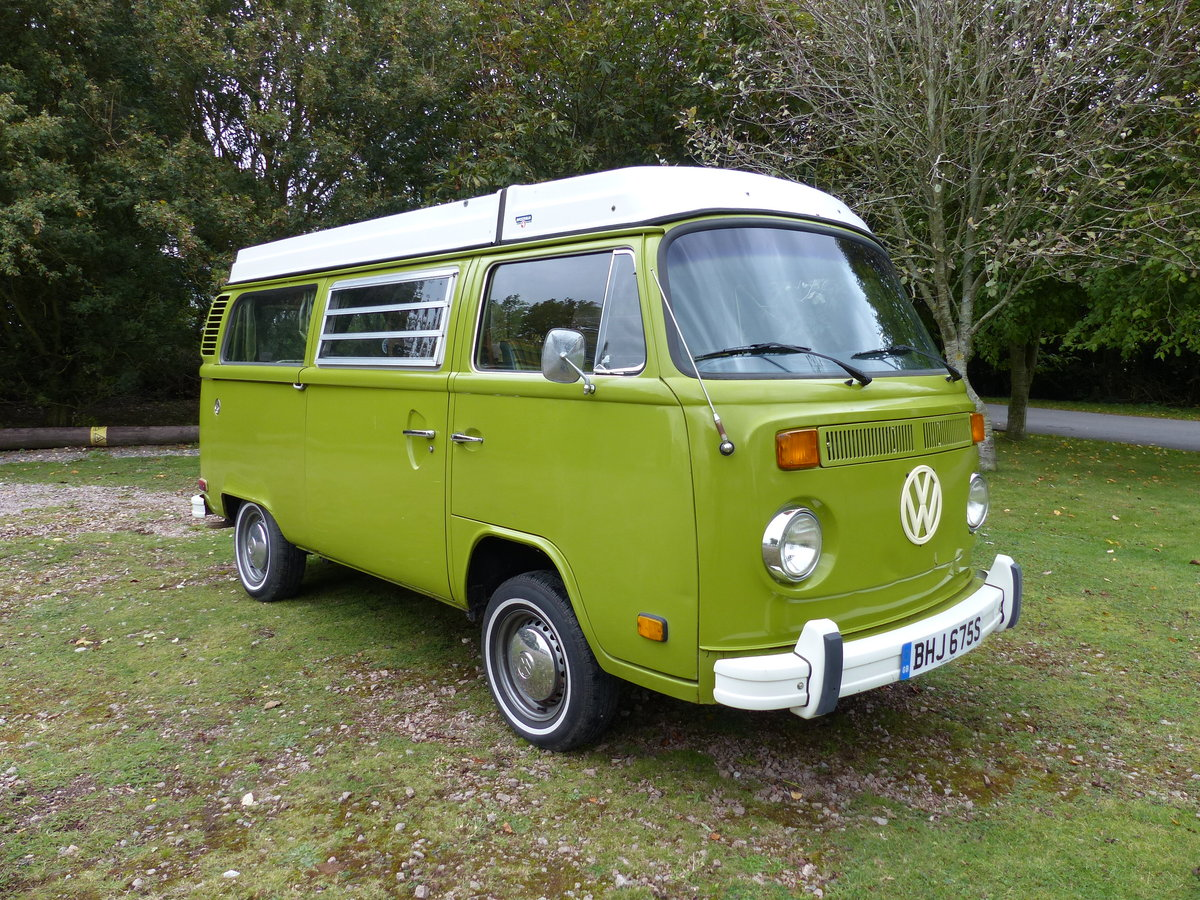 1977 TYPE 2 BAY WINDOW WESTFALIA BERLIN CAMPER 2.0 For Sale (picture 3 of 6)
